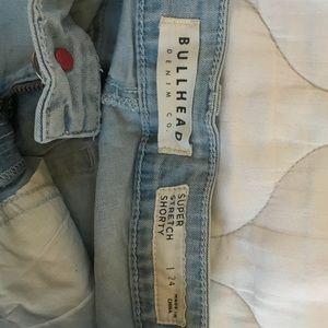 Bullhead Shorts - Bullhead Denim Jean Shorts